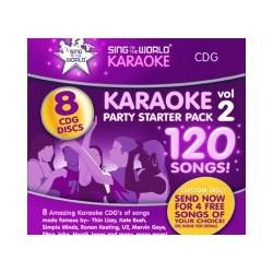 STW Karaoke Starter 2 CDG -120 songs