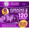 Karaoke Starter Pack 2 CDG -120 songs STW