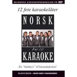 Norsk Karaoke Vol. 10 DVD