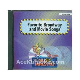 Broadway & Movie Songs - 15 songs