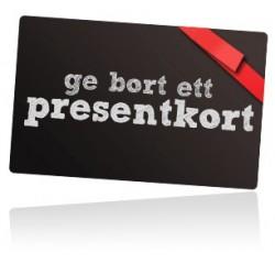 BLACK FRIDAY Presentkort på 500 SEK betala 450 SEK