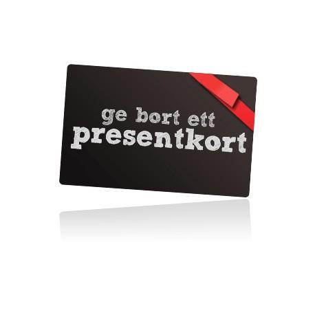 Presentkort 500/1000:- betala 450/900:-