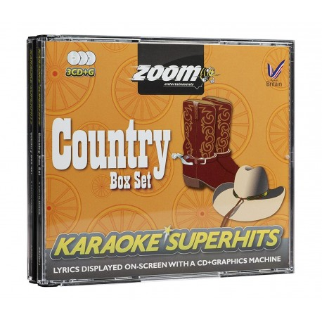 Country 67 Songs CDG Zoom