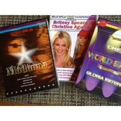 Madonna Cher Gloria Britney Christina 3 Disc 399