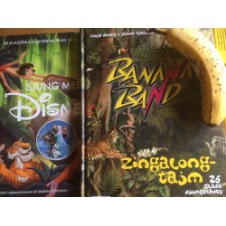 Sångbok Combo Disney & El Banana Songs