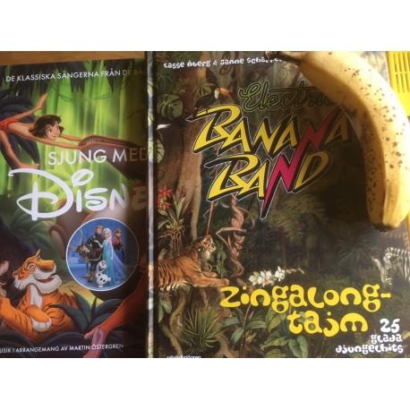 Sångbok Combo Disney & El Banana Songs