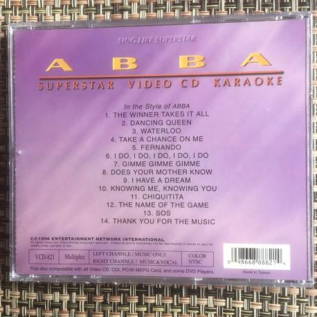 ABBA VCD 12 Songs FRI VID KÖP ÖVER 500 SEK
