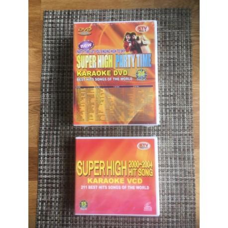 2 Pack Super High DVD Karaoke 711 Songs