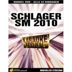 2010 Schlager SM DVD - 32 bidrag
