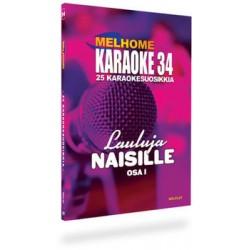 Finska Melplay Melhome Karaoke vol 34 LAULUJA NAISILLE !