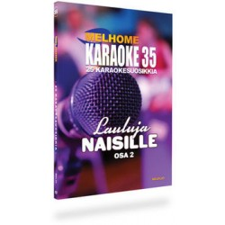 Finska Melplay Melhome Karaoke vol 35 LAULUJA NAISILLE !