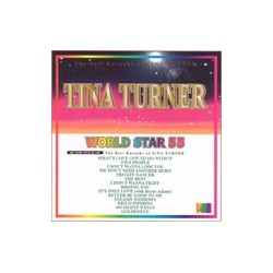(B) Tina Turner  World Star 55