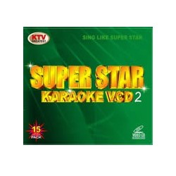 Super Star Karaoke VCD/DVD  2 Grön 15 disc set