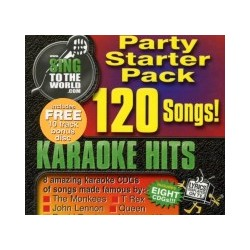 Karaoke Starter Pack  1 CDG 120 Songs