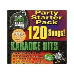 STW Karaoke Starter 1 CDG 120 Songs