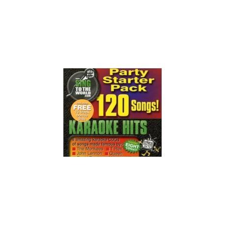 Karaoke Starter Pack  1 CDG 120 Songs