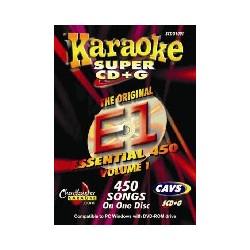 Essential Karaoke E1 450 songs