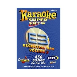 Essential Karaoke E3 450 songs