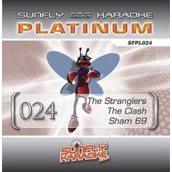 Sunfly Platinum 024 - Stranglers, Clash & Sham 69