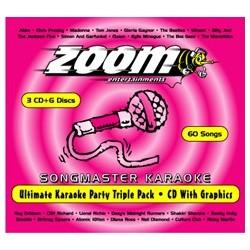 Songmaster Ultimate Karaoke 3 Disc Zoom