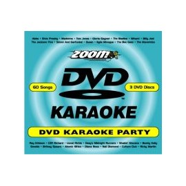 Songmaster Ultimate Karaoke 3 Disc Zoom DVD